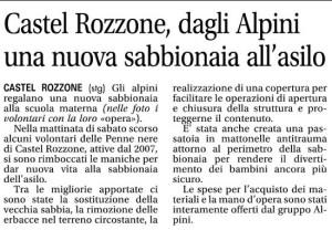 Articolo Giornale di Treviglio 09 05 2014