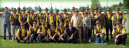 foto del gruppo all'anniversario